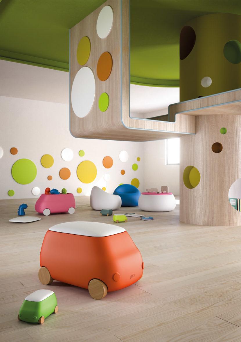 playroom tutti i colori del gioco